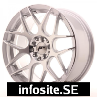 Fälgar ABS Wheels  JR18 Machined Face Silver
