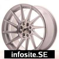 Fälgar ABS Wheels  JR22 Machined Face Silver