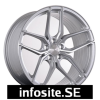 Fälgar ABS Wheels  F17 SILVER BRUSH