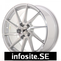 Fälgar ABS Wheels  JR36 Silver Brushed
