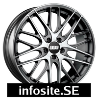 Fälgar BBS CS 5 Satin Anthracite Polished Face
