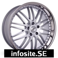 Fälgar ABS Wheels ABS OLYMPIA GT SILVER