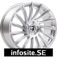 Fälgar ABS Wheels TOMASON TN16 BRIGHT SILVER